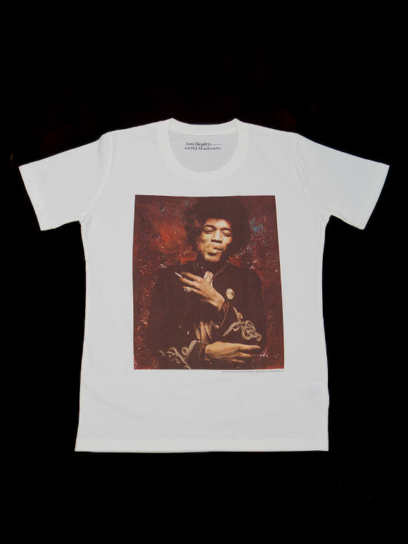 JIM HENDRIX【ジミ・ヘンドリックス】オフィシャルTシャツ(14B-1-RH-0087)