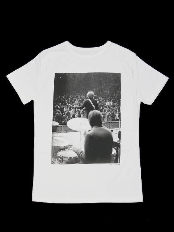THE ROLLING STONES【ブライアン・ジョーンズ、チャーリー・ワッツ】オフィシャルTシャツ(15B-1-RH-0615)