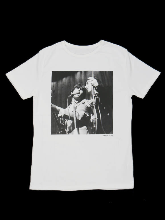 THE ROLLING STONES【キース・リチャーズ、ビル・ワイマン】オフィシャルTシャツ(15B-1-RH-0620)