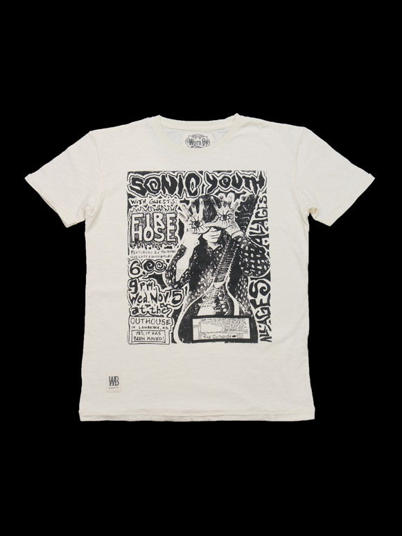 Worn By【SONIC YOUTH FIREHOSE】(15B-1-RH-0642)
