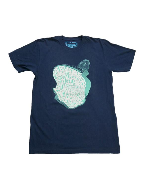 フィルモア オフィシャルTシャツ The Blues Project Men's Retro T-Shirt(14B-1-RH-00254)
