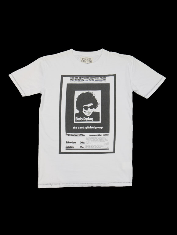 Worn By【ISLE OF WIGHT BOD- Bob Dylan – David Fairbrother-Roe Design】(14B-1-RH-0133)
