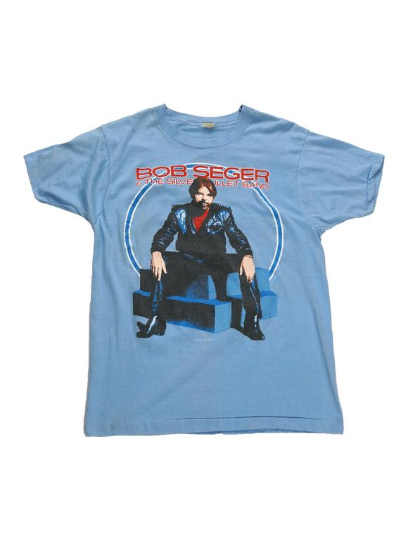 Bob Seger Vintage T-Shirt(14B-1-RH-0398)