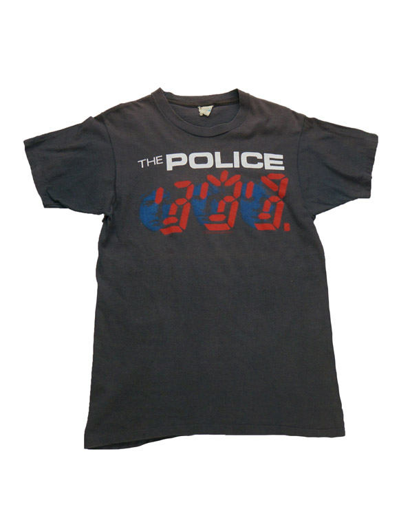 The Police Vintage T-Shirt(ITK51)