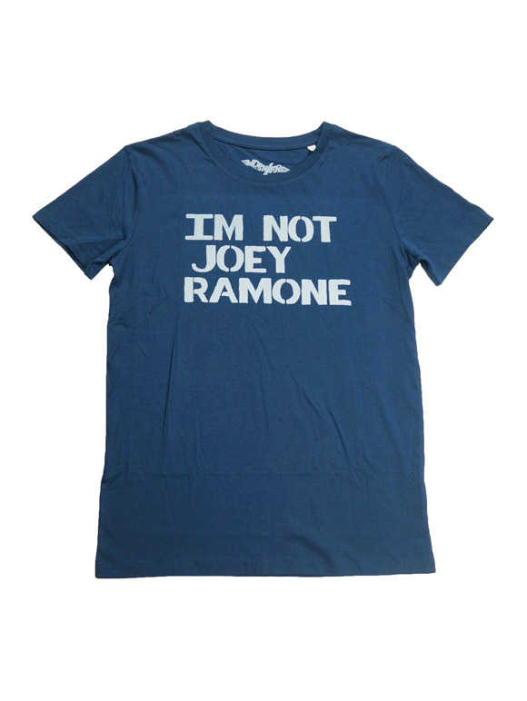 1977 JOEY RAMONE IM NOT JOEY RAMONE T-shirt(16B-1-RH-0827)