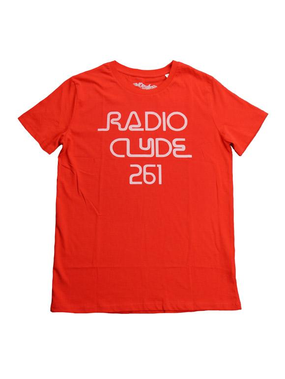 1977 FRANK ZAPPA RADIO CLYDE261 T-shirt(16B-1-RH-0833)