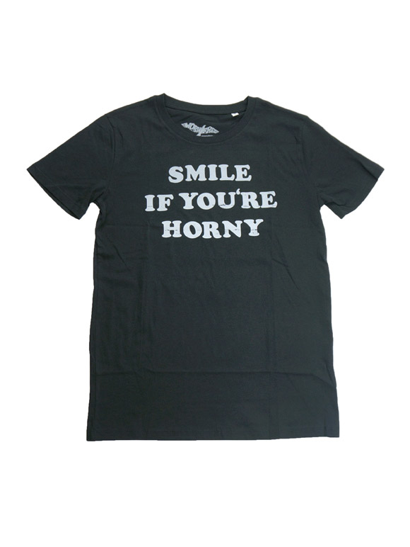 1980 TOMMY CHONG SMILE IF YOU'RE HORNY T-shirt(16B-1-RH-0881)