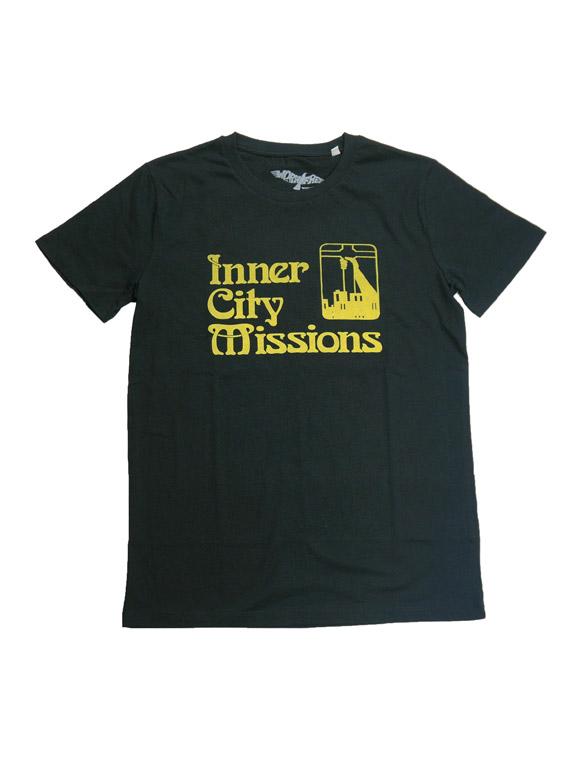1990 KURT COBAIN INNER CITY MISSIONS T-shirt(16B-1-RH-0887)