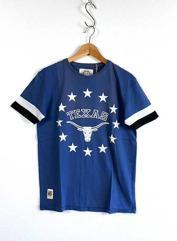 Worn By【TEXAS T-shirts】(16B-1-RH-0776)