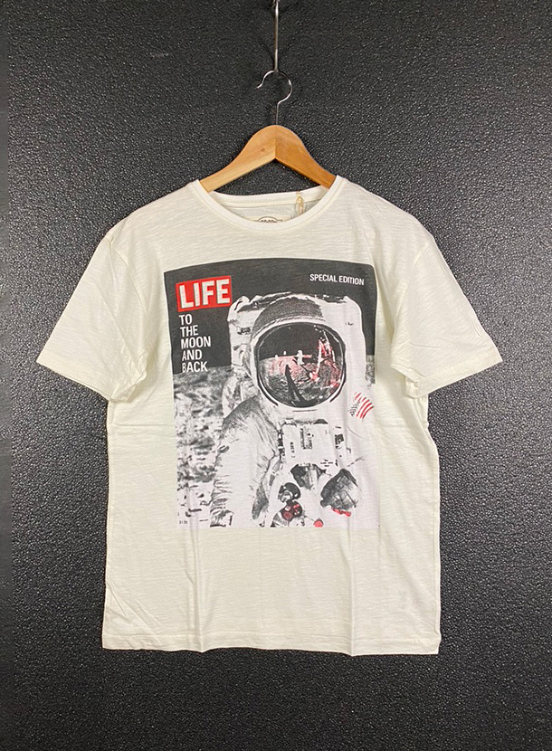 Worn By【LIFE MOON LANDING T-shirts】(17B-1-RH-0952)