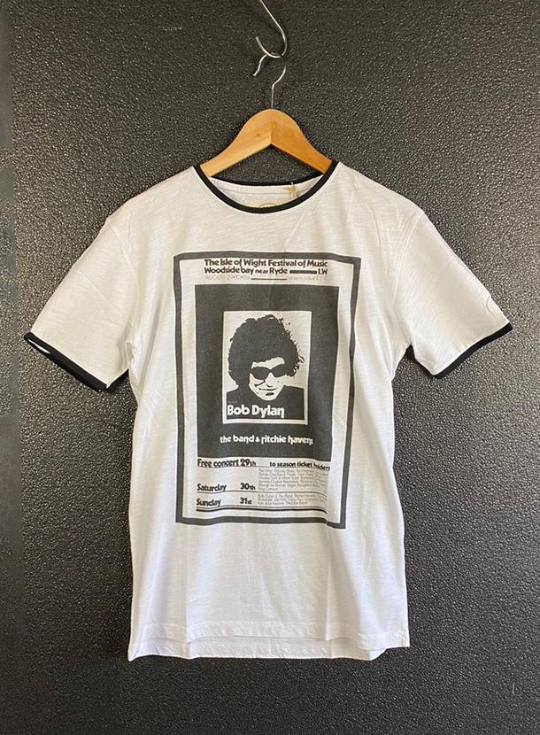 Worn By【BOB DYLAN POSTER T-shirts】(17B-1-RH-0937)